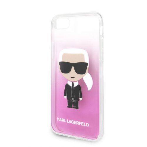 Karl Lagerfeld KLHCI8TRDFKPI Karl Lagerfeld Fun Sunglasses Kryt pro iPhone 8/SE2020 Pink