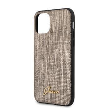 Guess GUHCN58PCUMLLIGO Guess Lizard Zadní Kryt pro iPhone 11 Pro Gold