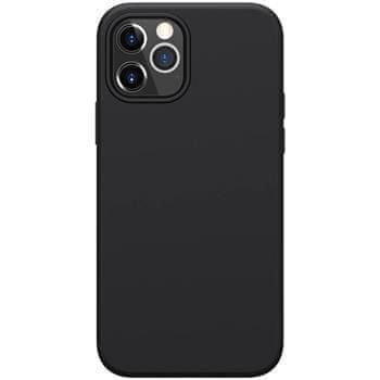 Nillkin Flex Pure Liquid Silikonový Kryt pro iPhone 12/12 Pro 6.1 Black