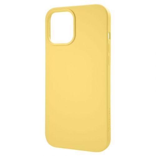 Tactical Velvet Smoothie Kryt pro Apple iPhone 12 /12 Pro Banana