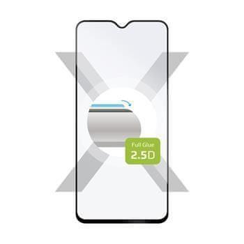 FIXED Ochranné tvrzené sklo FIXED Full-Cover pro Xiaomi Redmi Note 8 Pro, lepení přes celý displej, černé