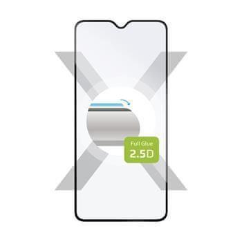 FIXED Ochranné tvrzené sklo FIXED Full-Cover pro Realme X2, lepení přes celý displej, černé