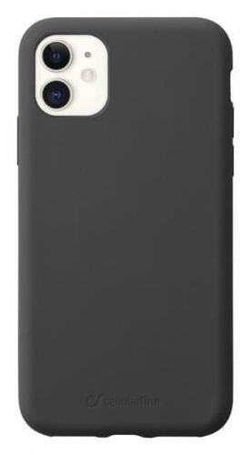 CellularLine Ochranný silikonový kryt CellularLine SENSATION pro Apple iPhone 11, černý