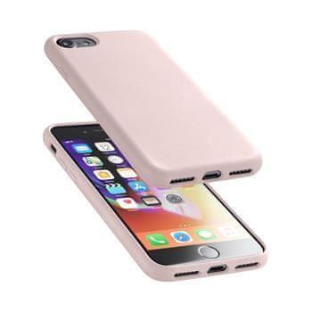 CellularLine Ochranný silikonový kryt Cellularline Sensation pro Apple iPhone 6/7/8/SE (2020), starorůžový