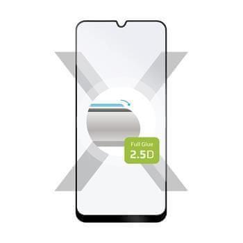 FIXED Ochranné tvrzené sklo FIXED Full-Cover pro Samsung Galaxy A50/A50s/A30s, lepení přes celý displej, černé