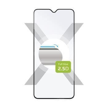 FIXED Ochranné tvrzené sklo FIXED Full-Cover pro Realme 5 Pro, lepení přes celý displej, černé