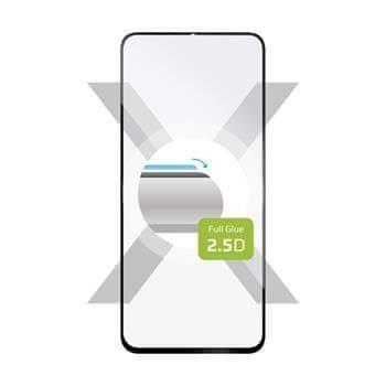 FIXED Ochranné tvrzené sklo FIXED Full-Cover pro Realme X2 Pro, lepení přes celý displej, černé