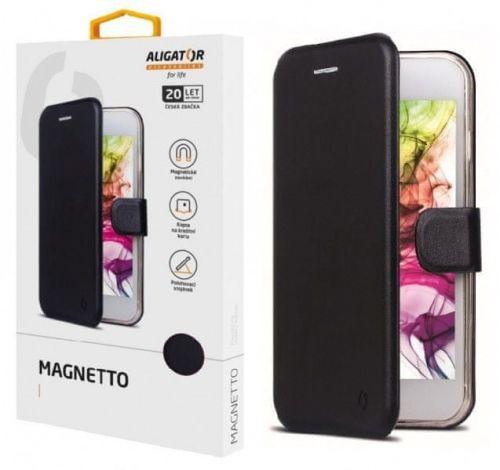 Aligator Pouzdro ALIGATOR Magnetto iPhone 11, Black