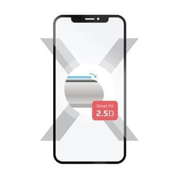 FIXED Ochranné tvrzené sklo FIXED Full-Cover pro Huawei Mate 20 Lite, přes celý displej, černé, 0.33 mm