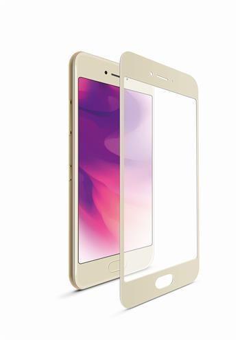 FIXED Ochranné tvrzené sklo FIXED Full-Cover pro Huawei Mate 10, přes celý displej, zlaté, 0.33 mm