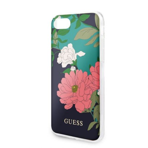 Guess GUHCI8PCUTRFL01 Guess Flower Edt. N.1 Kryt pro iPhone 8/SE2020 Black