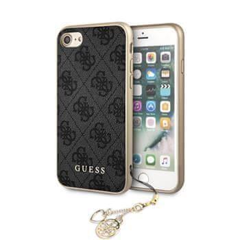 Guess GUHCI8GF4GGR Guess Charms Hard Case 4G Grey pro iPhone 7/8/SE2020