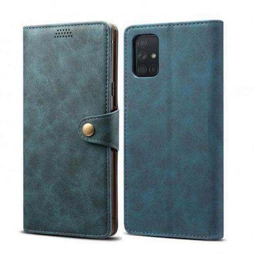 Xiaomi Lenuo Leather pro Samsung Galaxy A51, modrá
