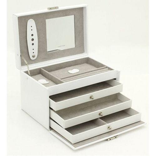 Friedrich Lederwaren Šperkovnice bílá/šedá Classico 23236-10 cena od 1840 Kč