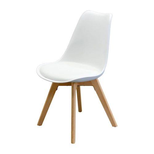 IDEA nábytek Jídelní židle QUATRO bílá