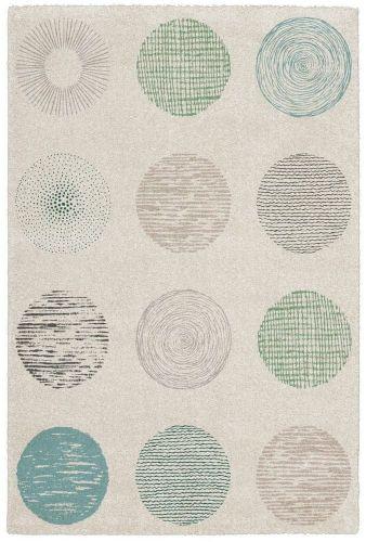 Obsession AKCE: 120x170 cm Kusový koberec Bronx 541 WHITE 120x170