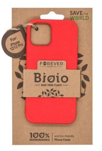 """Forever Zadní kryt Bioio pro Apple iPhone 12/iPhone 12 Pro (6,1"""") červený GSM102597"""
