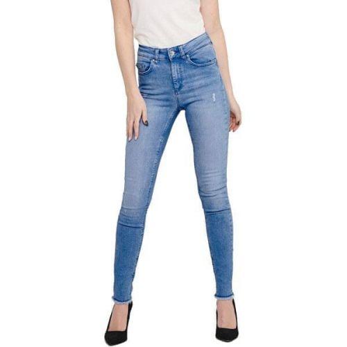 ONLY Dámské skinny džíny ONLBLUSH 15178061 Light Blue Denim (Velikost L/30)