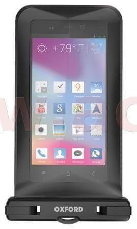 Oxford voděodolné pouzdro na telefony Aqua Dry Phone uni, OXFORD - Anglie (verze s kotvením na řídítka) OX190