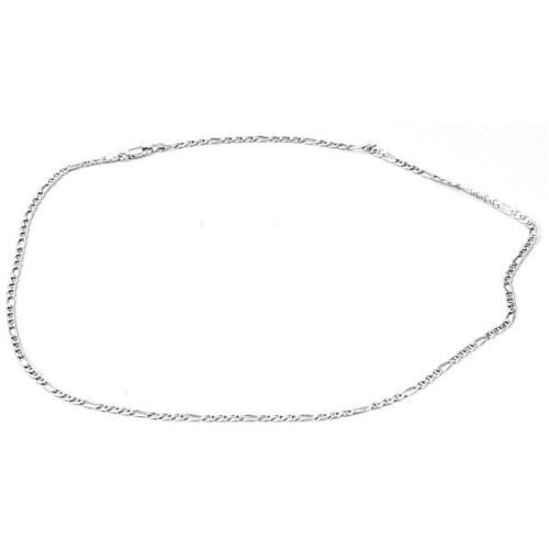Beneto Stříbrný řetízek Figaro 55 cm AGS677/55 stříbro 925/1000