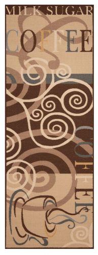Zala Living AKCE: 67x180 cm Běhoun Coffee Ornament 67x180 Vibe 103491 brown 67x180