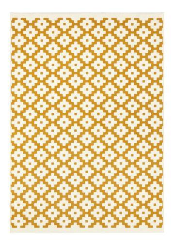 Hanse Home AKCE: 80x150 cm Kusový koberec Celebration 103450 Lattice Gold 80x150