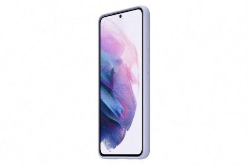 Samsung Silikonový zadní kryt pro S21 Violet