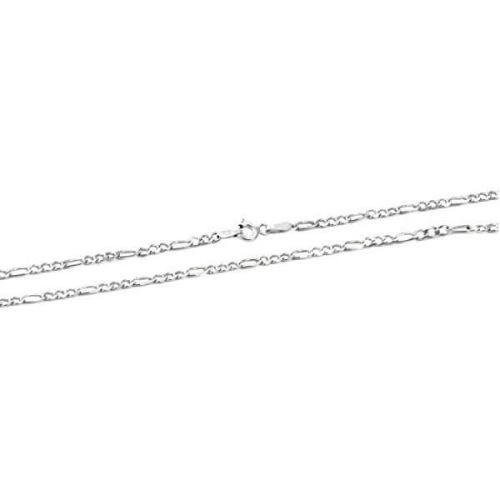 Beneto Moderní stříbrný řetízek Figaro AGS1127 (Délka 50 cm) stříbro 925/1000
