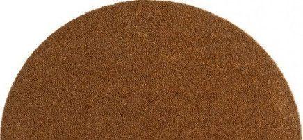 Hanse Home AKCE: 75x50 půlkruh cm Protiskluzová rohožka Soft & Clean 102459 půlkruh 75x50 půlkruh