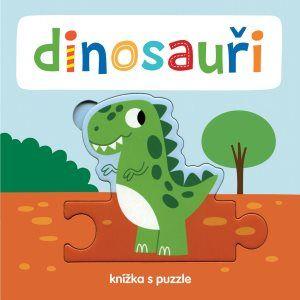 Beatrice Tinarelli: Dinosauři - Knížka s puzzle
