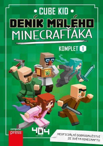 Cube Kid: Deník malého Minecrafťáka: komplet 1