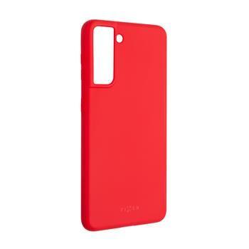 Kryt FIXED Story Samsung Galaxy S21, červený