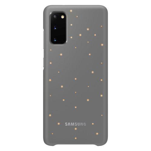 Samsung kryt s LED diodami pro S20 Gray