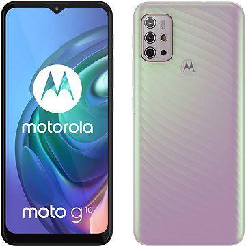 Motorola Moto G10 perleťová