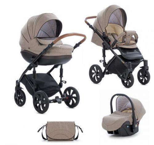 FOR BABY Kočárek Mimi Style 3v1 Brown cena od 17089 Kč