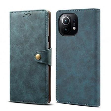 Lenuo Leather pro Xiaomi Mi 11, modré