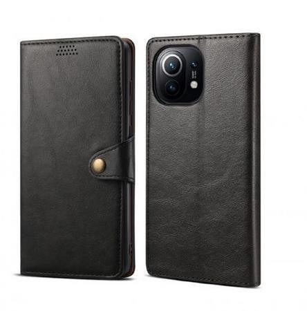Lenuo Leather pro Xiaomi Mi 11, černé