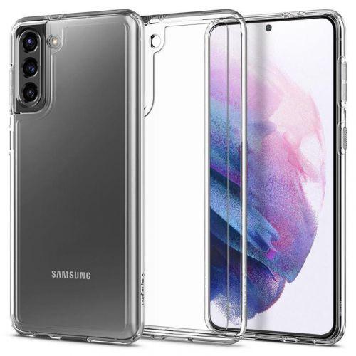 Ochranný kryt Spigen Ultra Hybrid pro Samsung Galaxy S21 transparentní