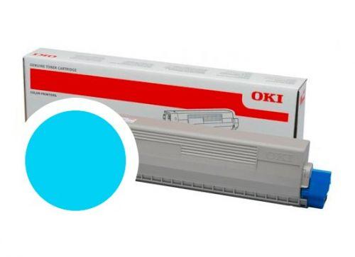 OKI Cyan toner do C824/C834/C844 (5 000 stránek)
