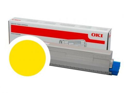 OKI Žlutý toner do C824/C834/C844 (5 000 stránek)