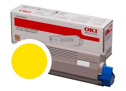 OKI Žlutý toner do C834/C844 (10 000 stránek)
