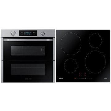 SAMSUNG Dual Cook FlexNV75N5671RS/OL + SAMSUNG NZ64M3707AK/UR