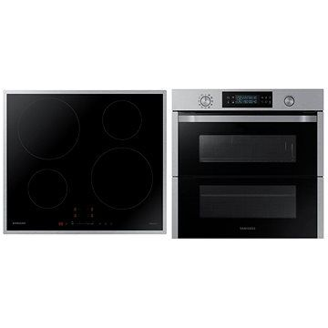 SAMSUNG Dual Cook Flex NV75N5671 RS/OL + SAMSUNG NZ64H37075K/EO