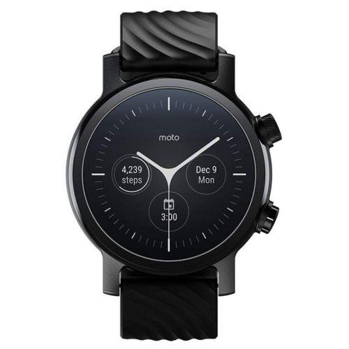 Motorola Moto 360 3. generace smart hodinky 42 mm černé