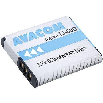 Avacom za Olympus LI-50B Li-ion 3.7 V 800mAh