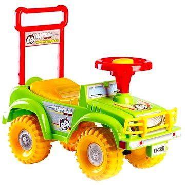 Teddies Odrážedlo auto Jeep Yupee zelené (8592190139629)