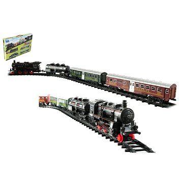 Teddies Vlak + 3 vagóny s kolejemi 24 ks (8592190124632)