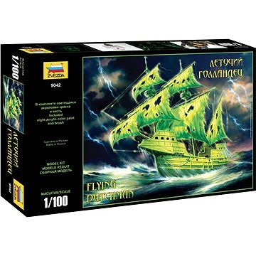 Zvezda Model Kit loď 9042 - Flying Dutchman (Ghost Ship) (1:100) (4600327090423)
