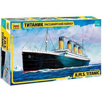 Zvezda Model Kit loď 9059 - R.M.S. Titanic (4600327090591)