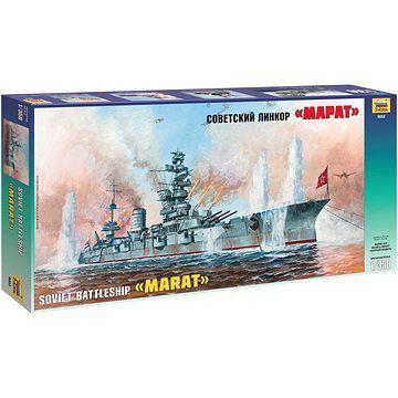 Zvezda Model Kit loď 9052 - Battleship Marat (4600327090522)